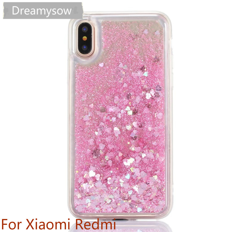 Cellphones & Telecommunications Phone Bags & Cases Bling Dynamic Liquid Quicksand Case For Xiaomi Mi 5x A1 Redmi 4x 5 Plus 4a 5a Note 4x 5a Shiny Silicone Tpu Glitter Sand Cover