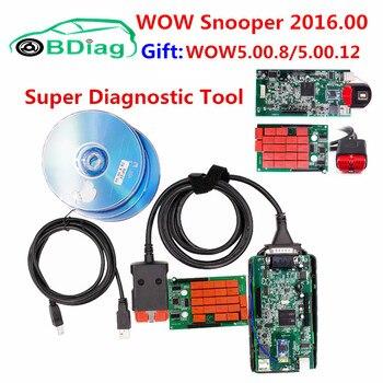 2018 Latest V5.00.12 WOW Snooper V5.00.8.R2 Keygen Free Activate TCS CDP Pro Auto Diagnostic Interface For CarTruckGeneric Nibbler
