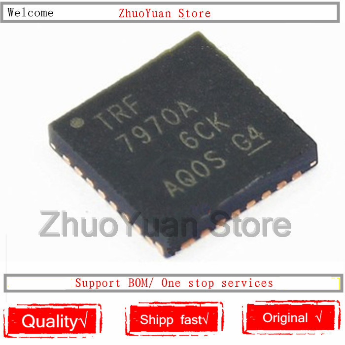 1PCS/lot New Original TRF7970A TRF7970ARHB TRF7970ARHBR TRF7970 QFN-32 RF IC Chip