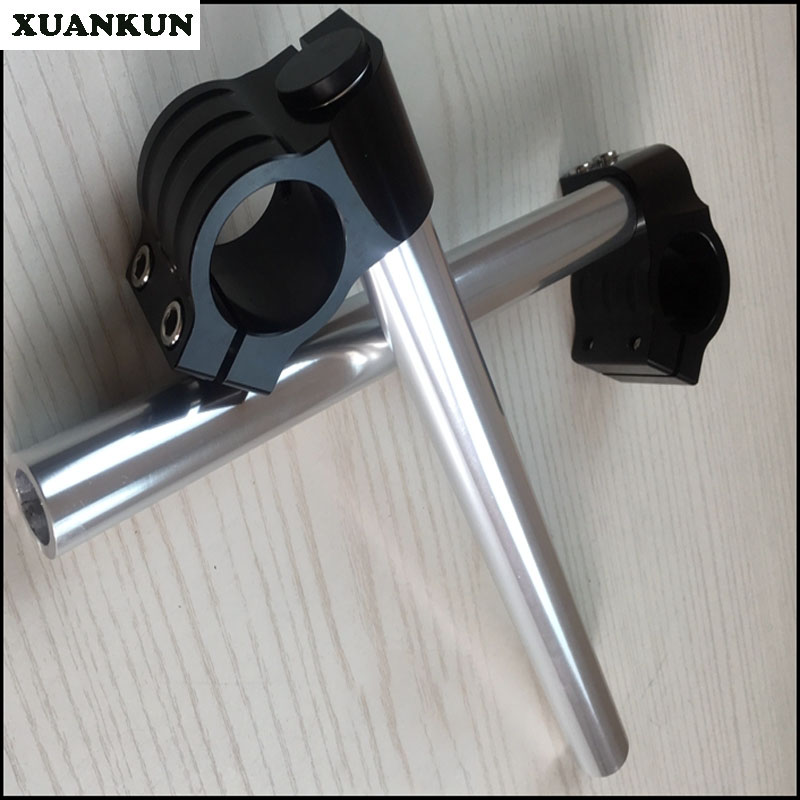 XUANKUN Cafe Racer Gn125.gs125.EN Retro Motorcycle Modified 32mm Coffee Separation Direction To Split The Handle xuankun cafe racer generations of motorcycle off the rail scrambler right side cover frame cover