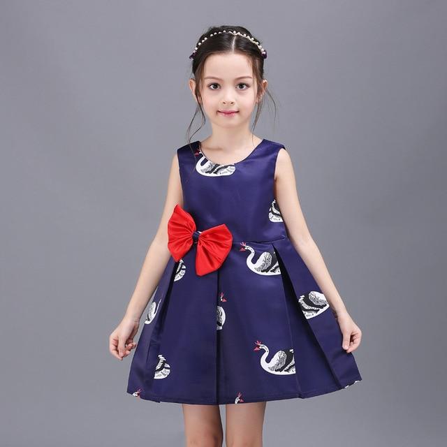 87a3ae44e 2016 New Girls Princess Ball Gown Kids Royal Blue Tutu Dress ...
