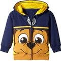 Животных мультфильм животных с длинным рукавом куртки хлопка досуг маленький ребенок пальто