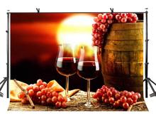 7x5ft Grape Wine Backdrop Creative Advertising Photography Background and Studio Props