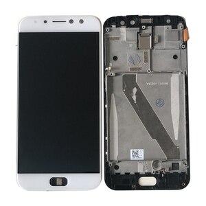 """Image 2 - 5.5 """"oryginalny Amoled M & Sen dla ASUS ZenFone 4 Selfie Pro ZD552KL wyświetlacz LCD rama ekranu + Panel dotykowy Digitizer dla Asus_Z01MD"""