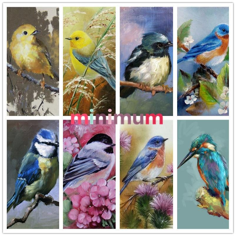 On Sale 5D DIY Diamond Painting Birds Cross Stitch Animal Crafts Home Decoration