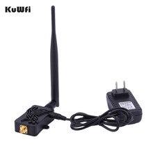 KuWfi 300Mbps راوتر لاسلكي عالية السرعة 802.11b/g/n واي فاي مضخم لاسلكي راوتر 2.4Ghz إشارة الداعم مع هوائي