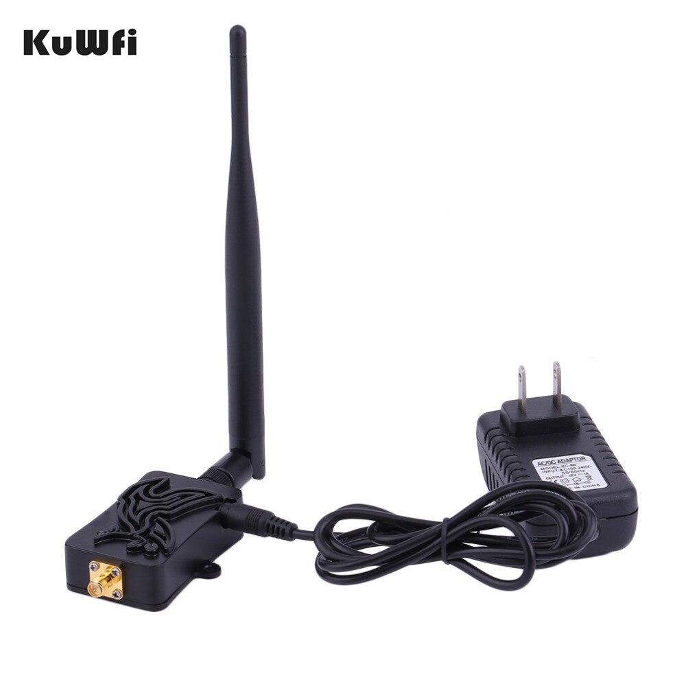 Routeur sans fil KuWfi 300Mbps haut débit 802.11b/g/n amplificateur sans fil Wifi routeur amplificateur de Signal 2.4Ghz avec antenne
