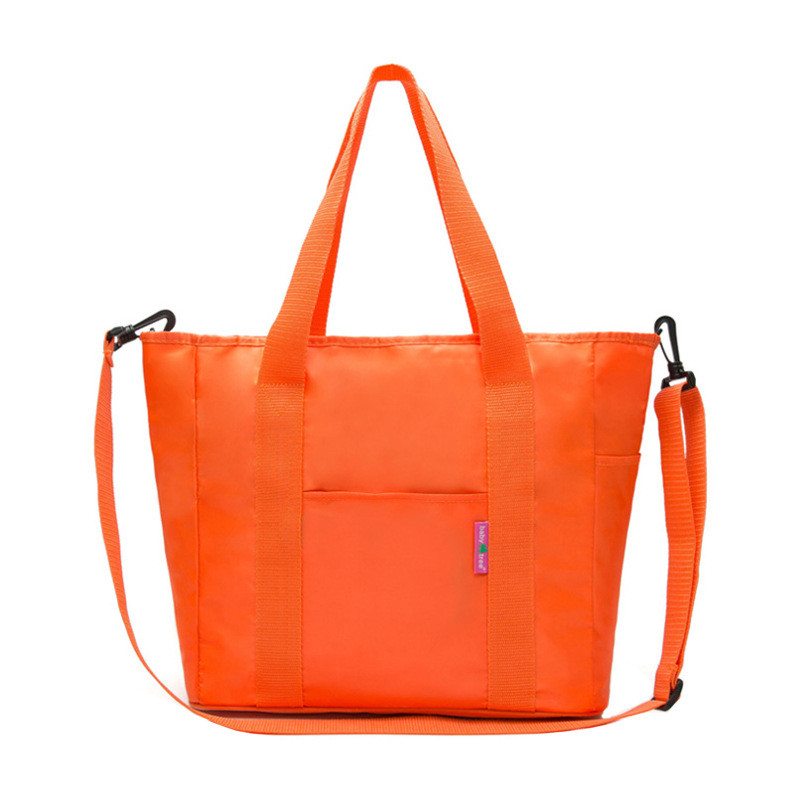 Orange Simplicity Diaper Bags Hot Mummy Infanticipate Mummy Babies Bags Nappy Bags Mutil-function Mother Baby Tote Milk Box Bags
