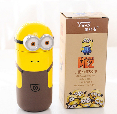 Water Minion Mug Bottle 2 Anime Cute Genuine Me Despicable Thermos lKJcT31F