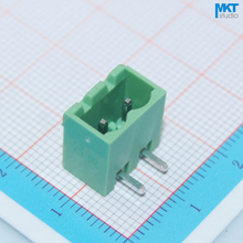 "10Pcs ""Cover"" Sides Right Angle Bend 5.08mm Pitch 2 Pins Male PCB Electrical Screw Terminal Block Connector(China)"