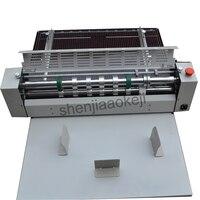 Электрический резак для бумаги позвоночника линии прессованного рисовой лапши один знак резка офсетная машина высокая скорость бумага биг