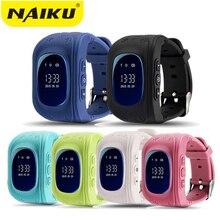 Купить онлайн Горячие Q50 GPS Дети Часы Baby Smart часы для детей SOS вызова Расположение Finder Locator Tracker анти потерянный монитор SmartWatch