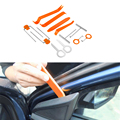 Car-styling 12 Pcs Plastic Auto Car Radio Door Clip Panel Trim Dash Audio Removal installer Pry Tool Repairing Set Accessories
