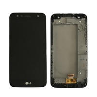 Original For LG M320 LCD Display With Touch Screen Digitizer Assembly With Frame Free Shipping