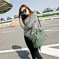 2016 Новые Прибытия женская сумка Нубук Кожа Старинные Сумка Мотоцикл Crossbody Сумки Женщины Сумку