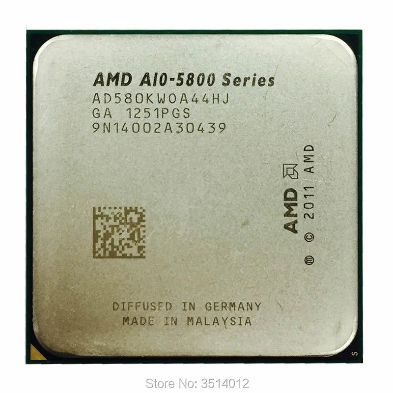AMD A10-Series A10 5800 A10 5800K A10 5800B четырехъядерный процессор AD580KWOA44HJ/AD580BWOA44HJ разъем FM2