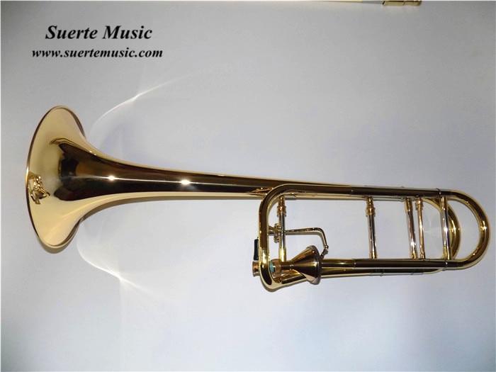 Bb/F Tapered Rotors Trombone Edward Copy Brass Body Lacquer Instrumentos Musicais Profissionais hot brand new gold lacquer eb alto trombone student horn nice tone instrumentos musicais profissionaltuba brass