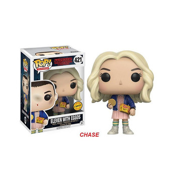 Funko POP Stranger things & Eleven brinquedos Collection PVC Action Figure toys for children birthday Gift