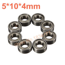 8 pz/set HSP Parti 02139 8P Cuscinetto A Sfere 5*10*4mm Himoto 31044 Baja Per 1/10 RC Modello di Auto(China)