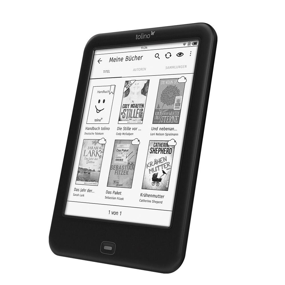 6 pouces Tolino Shine2 HD lecteur de livre électronique léger WiFi ebook e-ink écran tactile 300ppi retina Carta 2 écran EReader