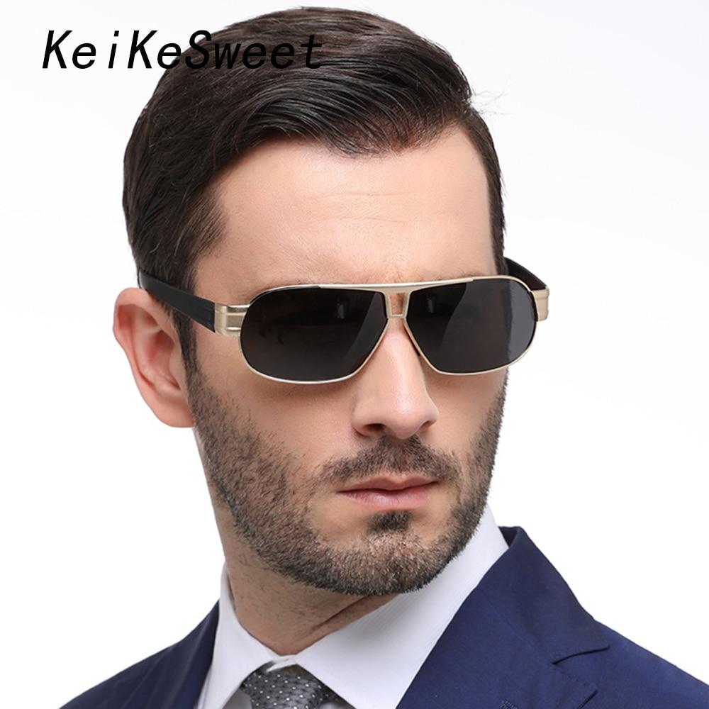 KeiKeSweet Men Top Polarized Brand Designer Outdoor UV400 Sport Sun Glasses Rays Fishing Driving Male Hot Fashion Sunglasses