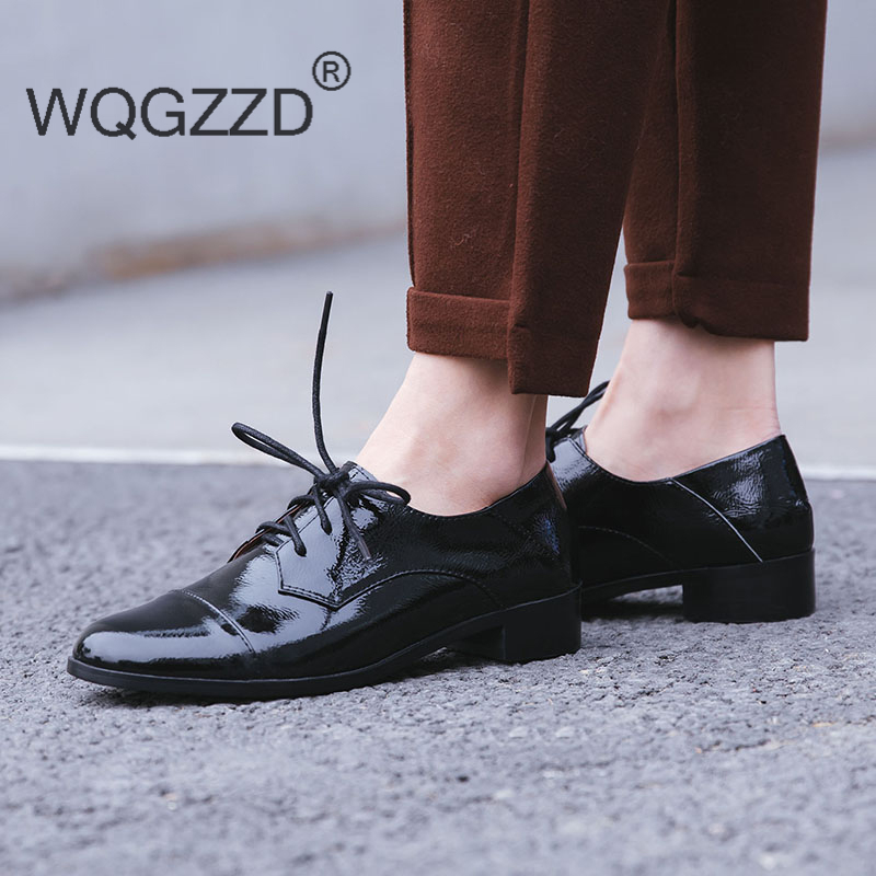 De Zapatos Homme Luxe Décontractées Marque Plates wine Chaussures Femme Black Red Cuir Chaussure En Femmes Mujer Brevet Oxford SVpzMGjLqU