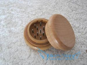 Nuevo molinillo de madera para hierba, especias, hierba, marihuana, tabaco, envío gratis, 5 unidades/lote GR118a 2 unidades