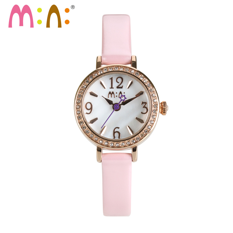 Luxury Brand Watches Women Fashion Waterproof Leather Bracelet Ladies Quartz Wrist Watch Clock Woman Hours 2017 Relogio Feminino stuffed fillings toy about 120cm pink strawberry fruit teddy bear plush toy bear doll soft throw pillow christmas gift b0795