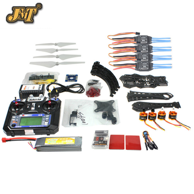 JMT Full Set DIY RC Drone Quadrocopter X4M380L Frame Kit QQ Super TX Gimbal