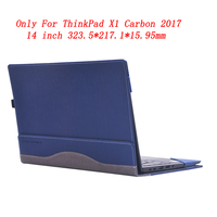 PU Leather Case Cover For Lenovo ThinkPad X1 Carbon 2017 14 Inch Creative Design Laptop Bag