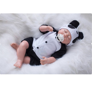 """20"""" New Arrival Cheap price Rooted Hair Handmade Silicone Adora Lifelike Sexy Cow Child Birthday Baby Bonecas Bebe Reborn doll"""