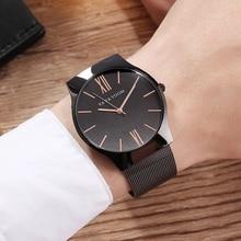 Men Watch 2019 Steel Mesh Belt Quartz Wrist Watch Top Brand Fashion Nordic Simple Watch Men Casual Waterproof Clock Male Relogio цена и фото