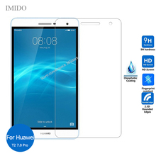 Tempered Glass Screen Protector For Huawei Mediapad T2 7.0 Pro Safety Protective Glass on Media pad T 2 7inch PLE-701L PLE 701L canon 701l c 9290a003