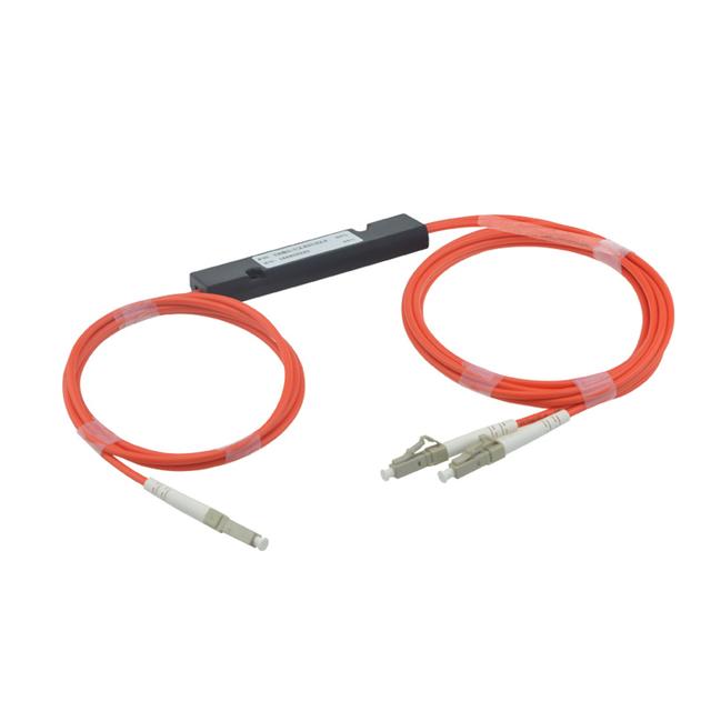 Envío Libre 850/1300nm 62.5/125 MM 50/50 Relación de Acoplamiento LC/PC 1x2 FBT Acoplador 1*2 FBT Divisor De Fibra Óptica Multimodo