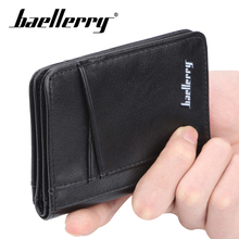 Baellery PU Leather Function 11 Bits Card Case Business Card Holder Men Women Credit Passport Card Bag ID Passport Card Wallet new pu leather passport cover holder women men travel credit card holder travel id card document passport holder