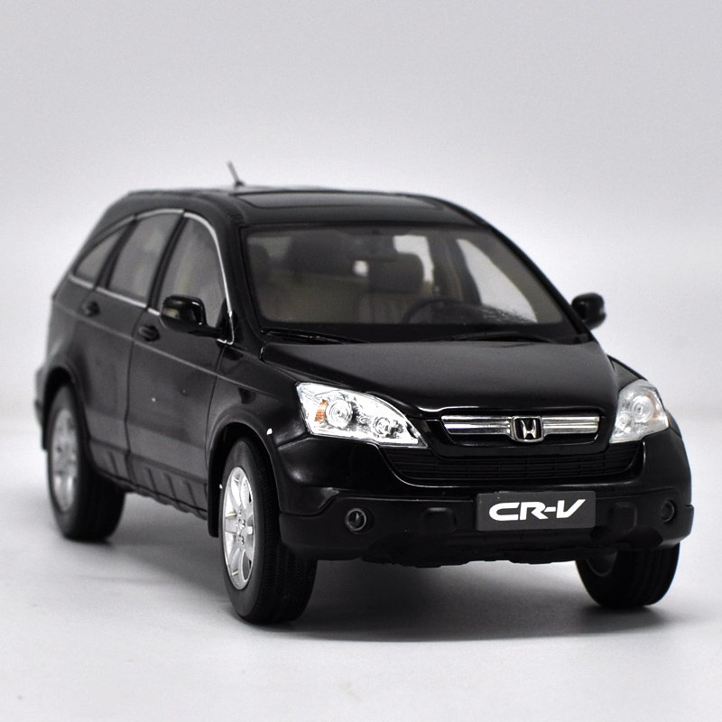 1 18 scale honda cr v 2008 black suv alloy diecast model car toy for kids christmas gifts. Black Bedroom Furniture Sets. Home Design Ideas