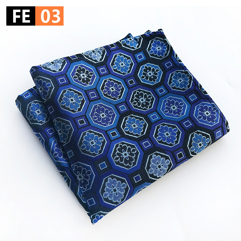 High Quality 25*25cm Men's Business Suits Pocket Square Handkerchiefs For Wedding  Mens Pocket Towel Festival Gift