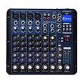 Freeboss SMR8 Bluetooth USB Record 8 Kanalen (4 Mono  2 Stereo) 16 DSP Kerk School Karaoke Party USB DJ Mixer