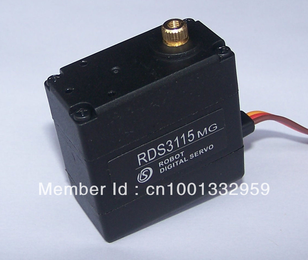 5pcs robot servp RDS3115 no metal brackets Torque 15kg cm Metal gear Digital servo Free shipping