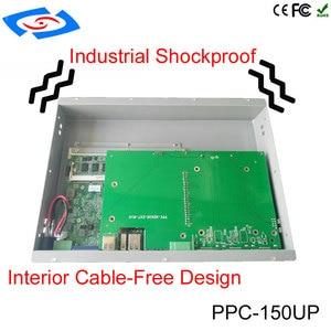 """Image 4 - 인텔 코어 i5 프로세서가 장착 된 태블릿 pc 15 """"키오스크 및 다기능 atm 용 산업용 패널 pc"""