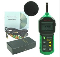 MASTECH MS6701 Autorange Digital Sound Level Meter Decibel Tester 30dB to 130dB With USB Data Acquisition