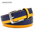Young Man Leather Belt  Italian Design Casual Men's Belts From Factory Direct Sales Free Shipment