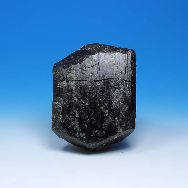 Big black tourmaline tourmaline crystal tourmaline mineral specimen original head marked ...