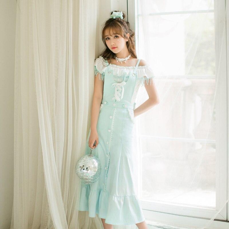 Princesa Lolita Tirantes Keqi Delgada Sin Línea Encaje C22ab7101 Candy Dulce Camisa Lluvia De 1qHwnrECIH