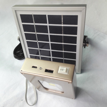 10W solar light with USB and solar charging  Emergency Camping Light power bank for smart phone