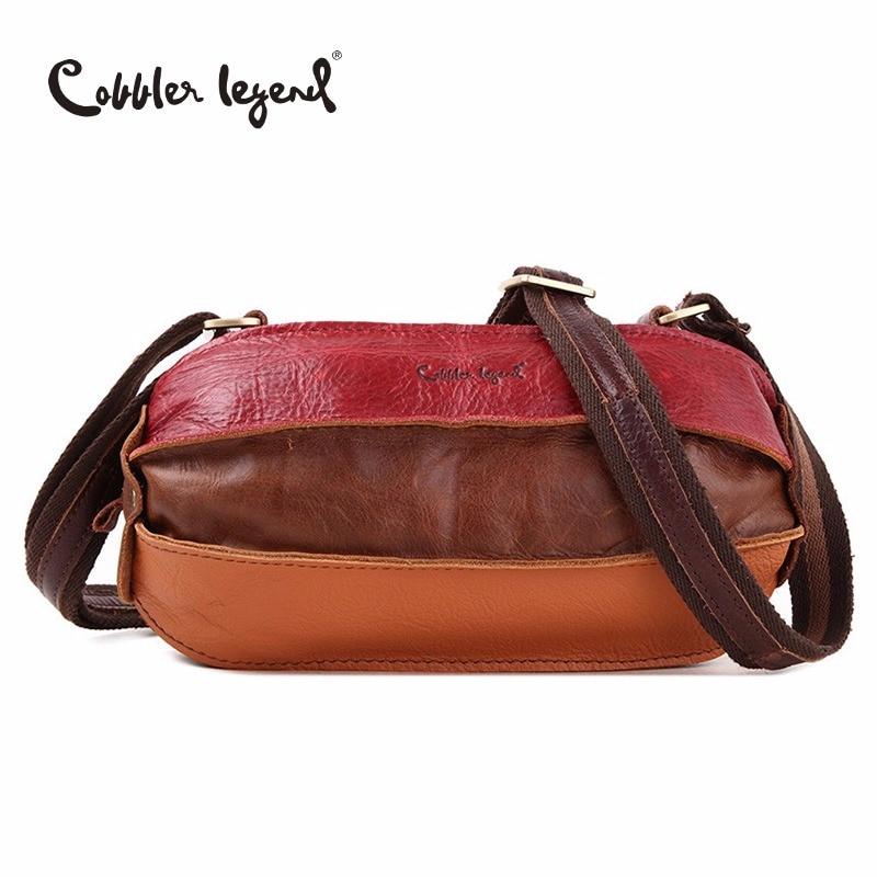 Cobbler Legend Summer Bags for Women 2018 New Brand Women Shoulder Bag High Quality Ladies Crossbody Bag Women's Genuine Leather