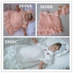 HÄKELN Für Baby Scalloped Kleid & Hut