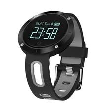 Новый IP68 Водонепроницаемый smart Сердечного ритма Приборы для измерения артериального давления часы спортивные Браслет Смарт Фитнес трекер для IOS Android
