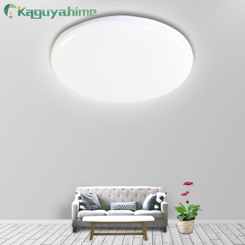 Kaguyahime Round LED Panel Light 18W 24W 36W LED Surface Ceiling Square Light 85-265V Modern Ceiling Lamp For Decoration Home