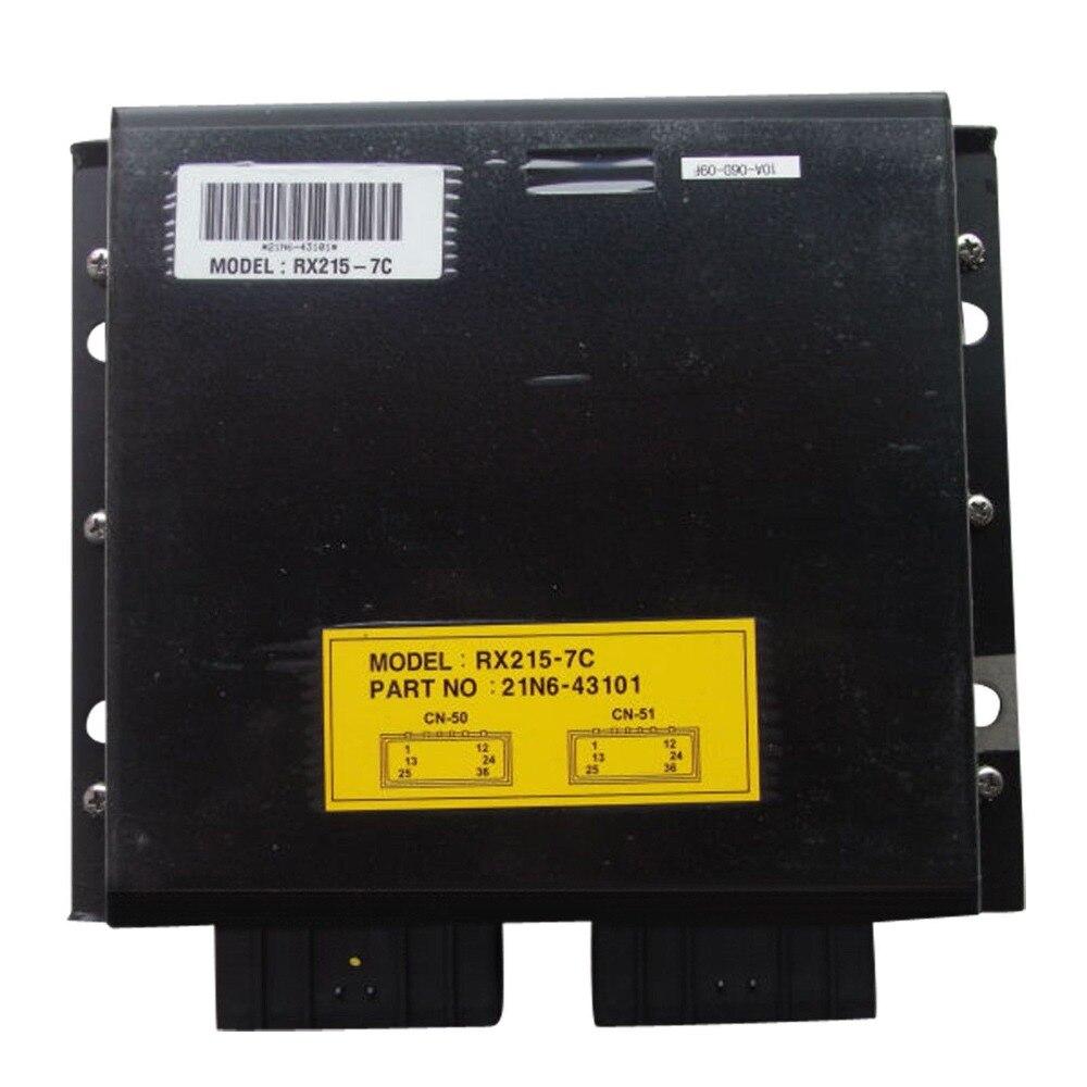 Robex RX215-7C MCU control panel 21N6-43101 21N6-43100 for Hyundai Excavator, 1 year warrantyRobex RX215-7C MCU control panel 21N6-43101 21N6-43100 for Hyundai Excavator, 1 year warranty